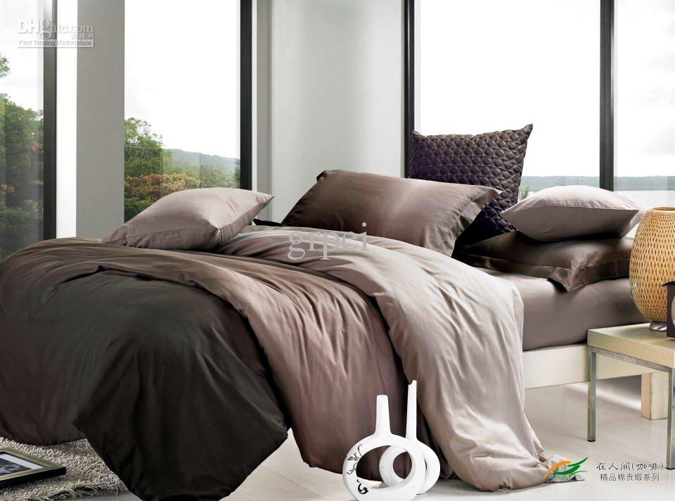 Image of: Brown Comforter Sets