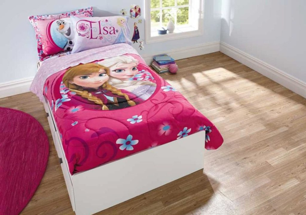 Image of: Disney Frozen Twin Bedding Sets