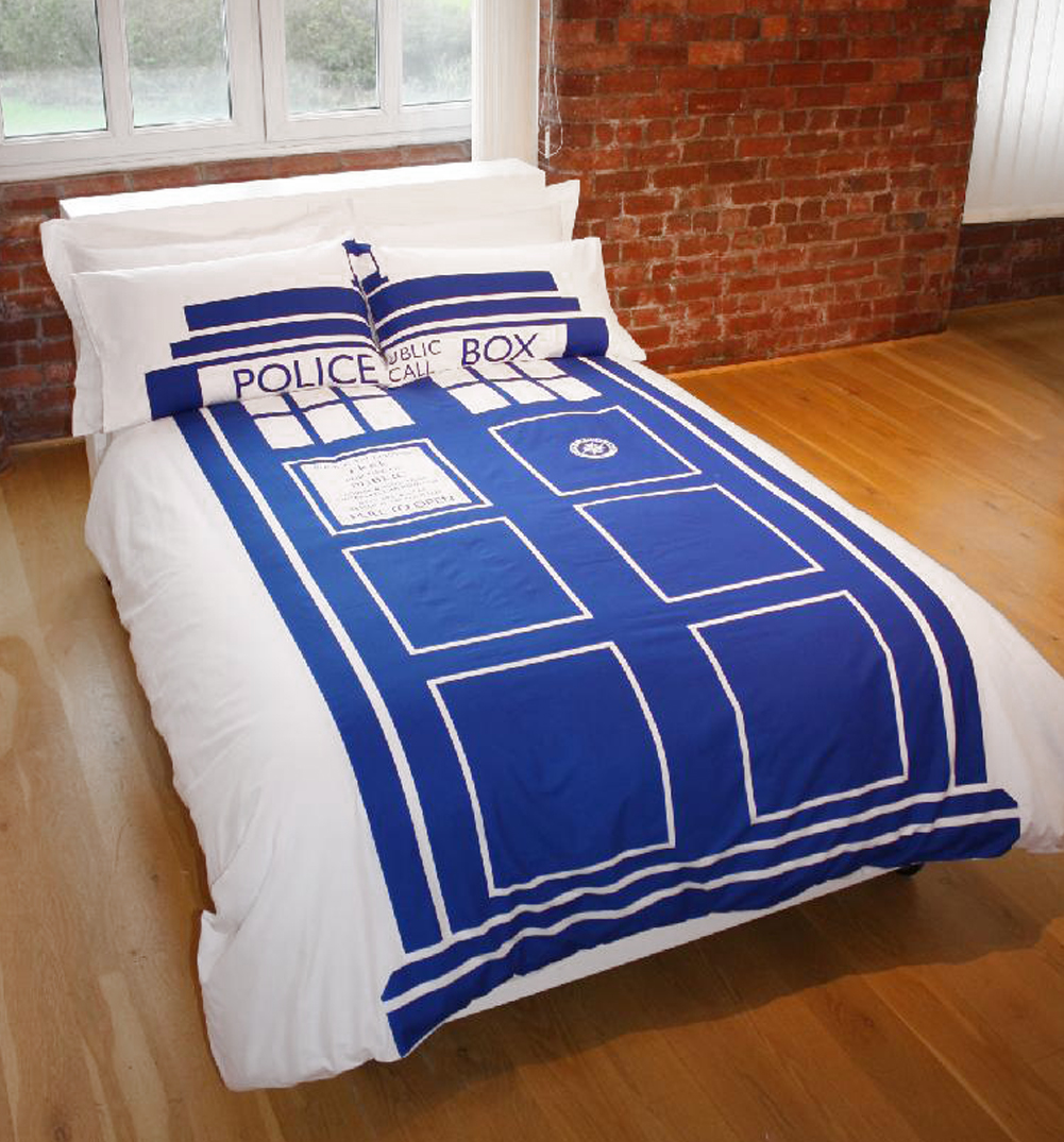 Image of: Doctor Who Comforter Hot Topic