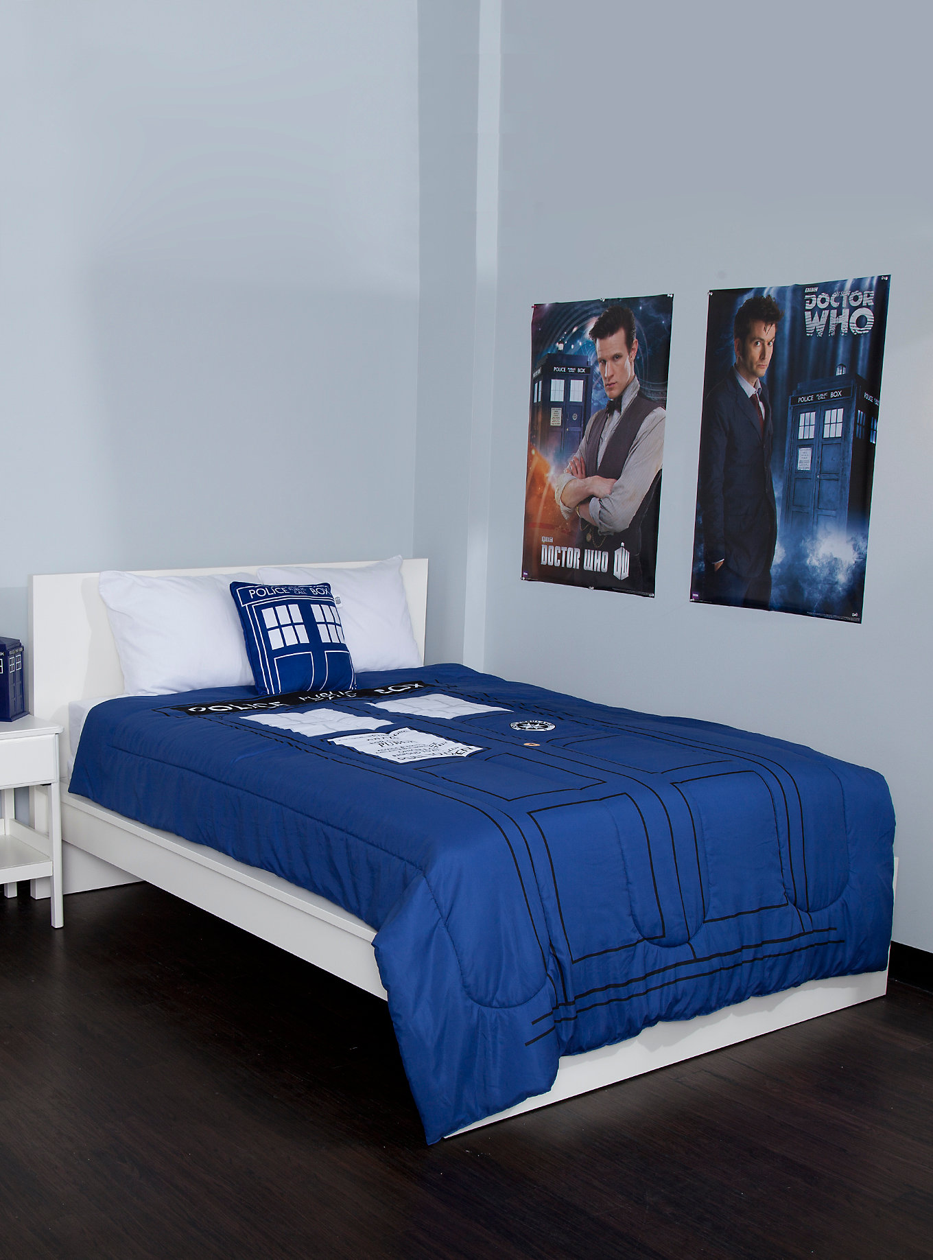 Image of: Doctor Who Twin Bedding Set