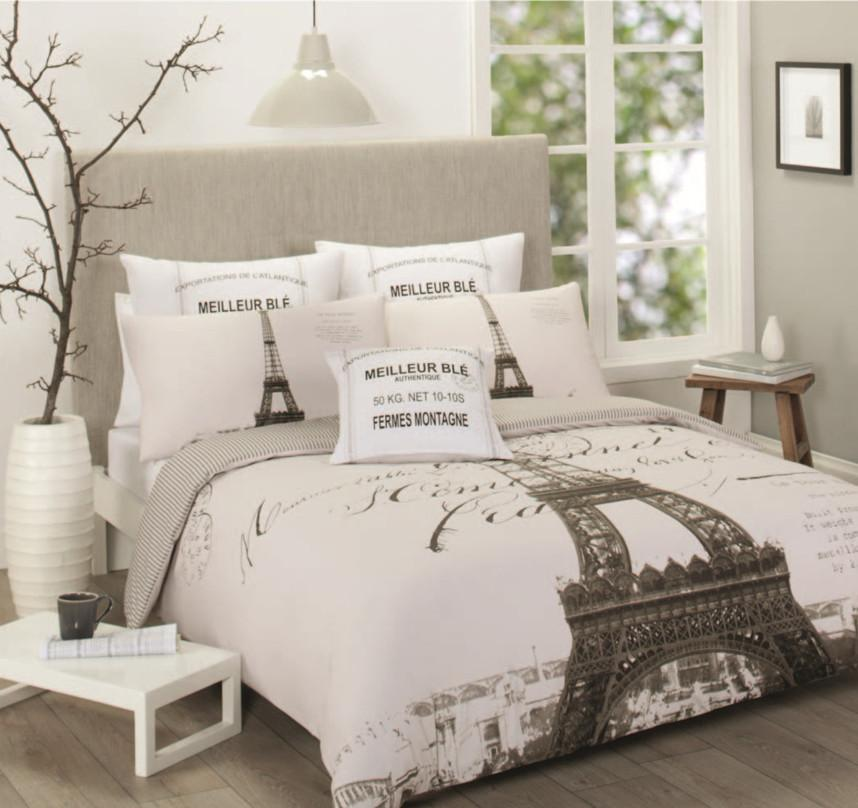 Image of: Eiffel Tower Bed Frame Designs