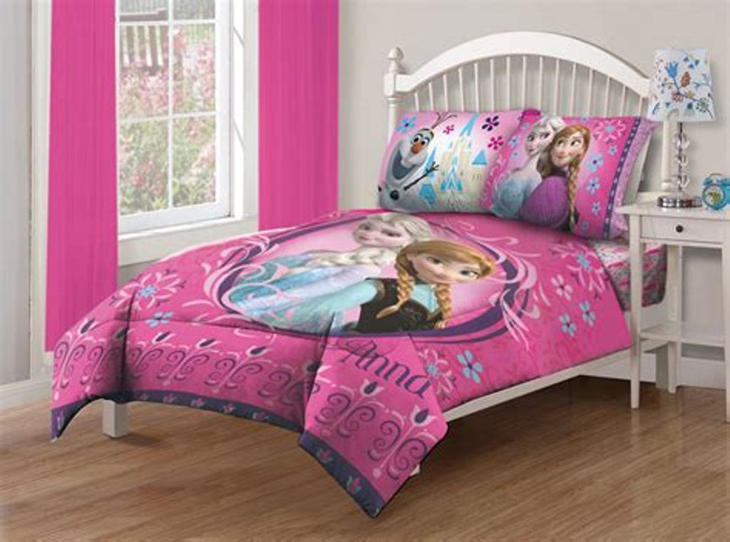 Image of: Frozen Bedding Set Twin