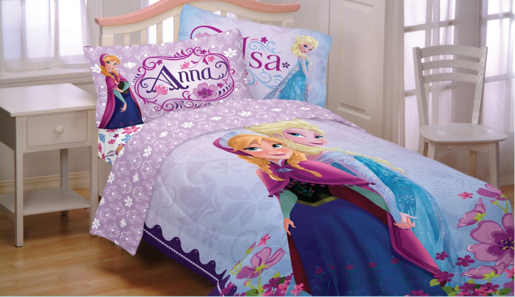 Image of: Frozen Twin Bed Set