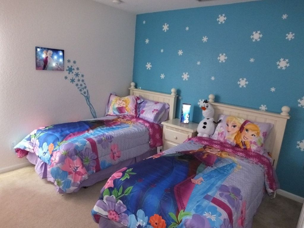 Image of: Frozen Twin Bed