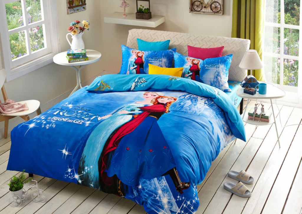 Image of: Frozen Twin Bedding For Girl