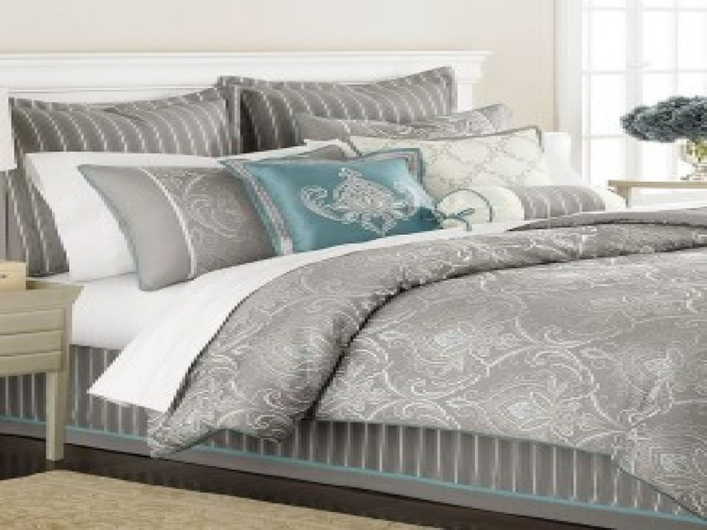 Image of: Gray Teal Bedding Full Size Coral Teal Bedding Top Coral and Turquoise Bedding Guide!