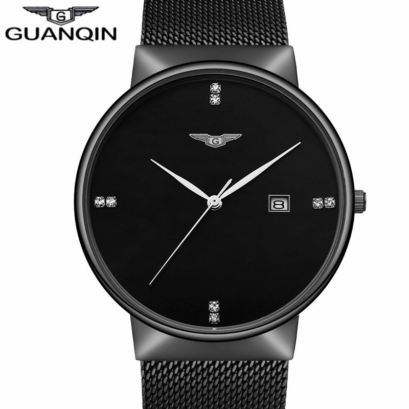 Image of: Guanqin Luxury Brand Business Casual Black Stainless Steel Relax and Escape Japanese Bed Set