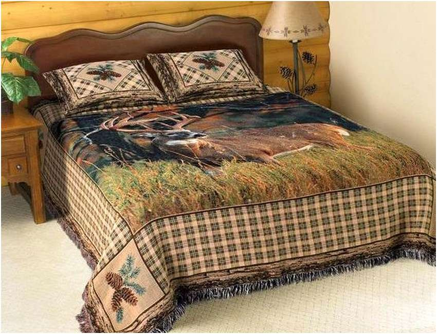 Image of: Hunting Bed Set Deer Bedding Set Get the Most Out of a Hunting Bed Sets