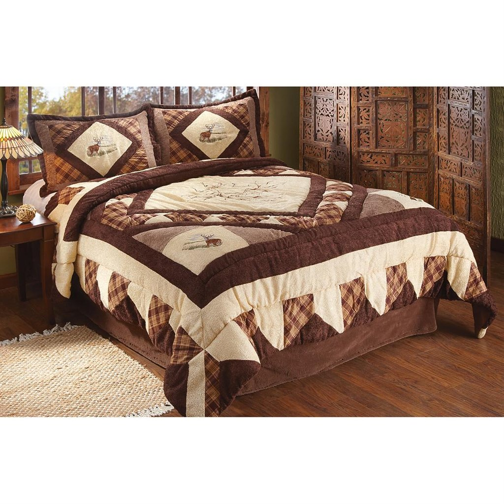 Image of: Hunting Bed Sets Pine Cone Patchmagic Afternoon Get the Most Out of a Hunting Bed Sets