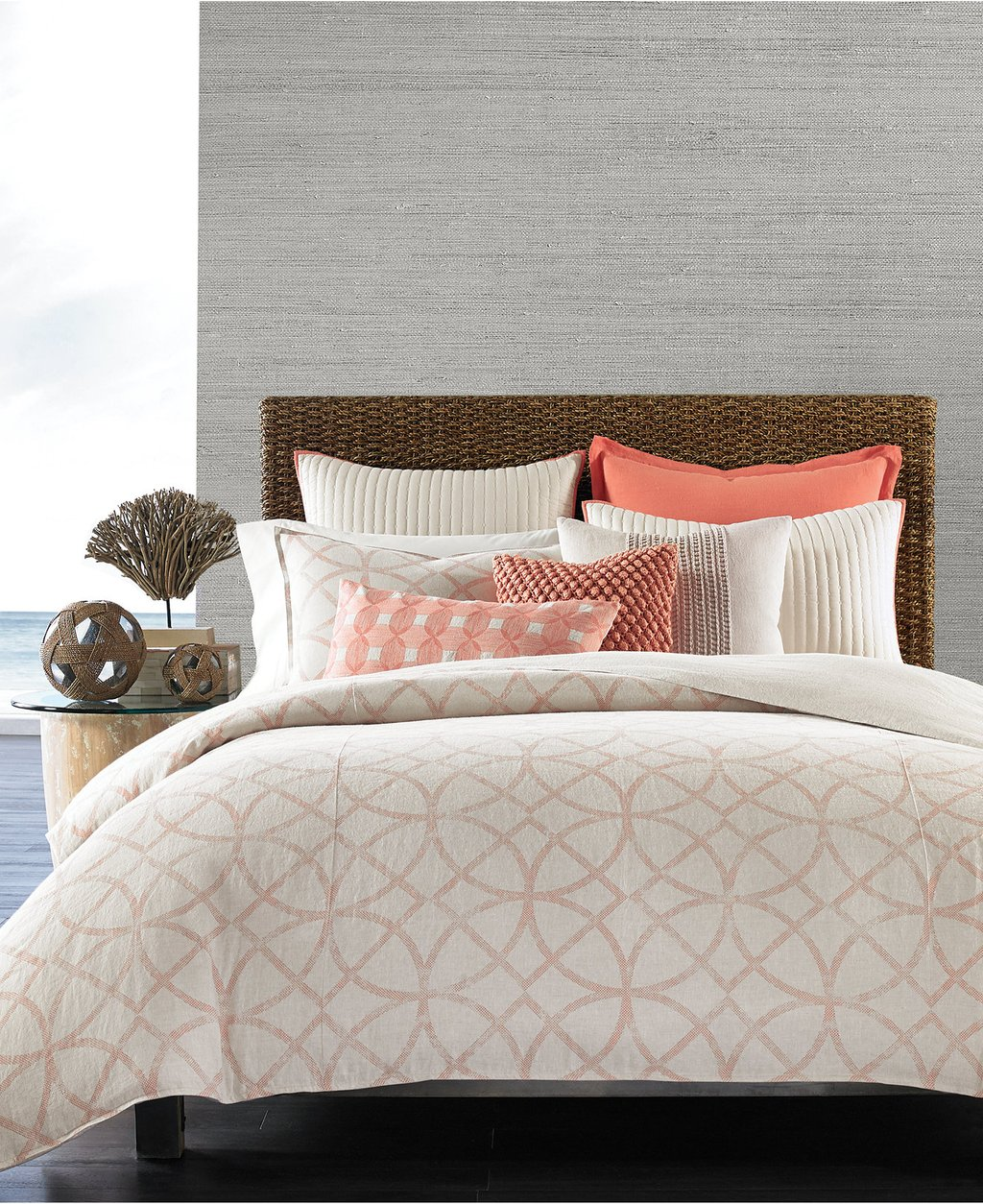 Image of: Macy Bedding Full Size Beddingmacy Bedding Stunning Top Coral and Turquoise Bedding Guide!