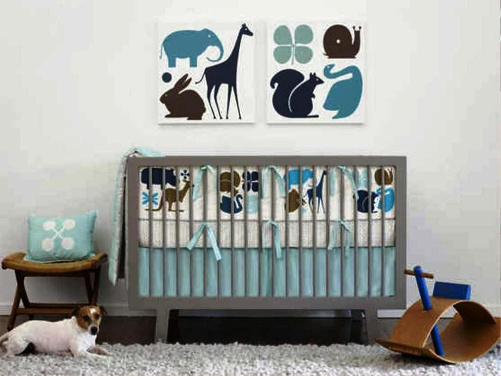 Image of: Modern Baby Bedding Sets