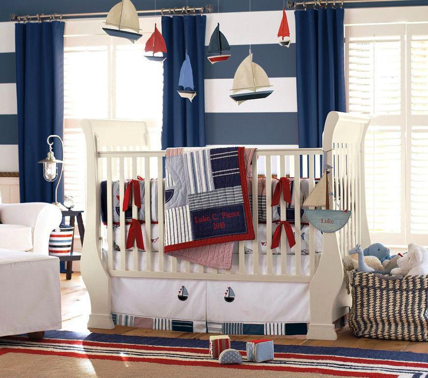Image of: Nautical Baby Bedding Crib Sets Ideas