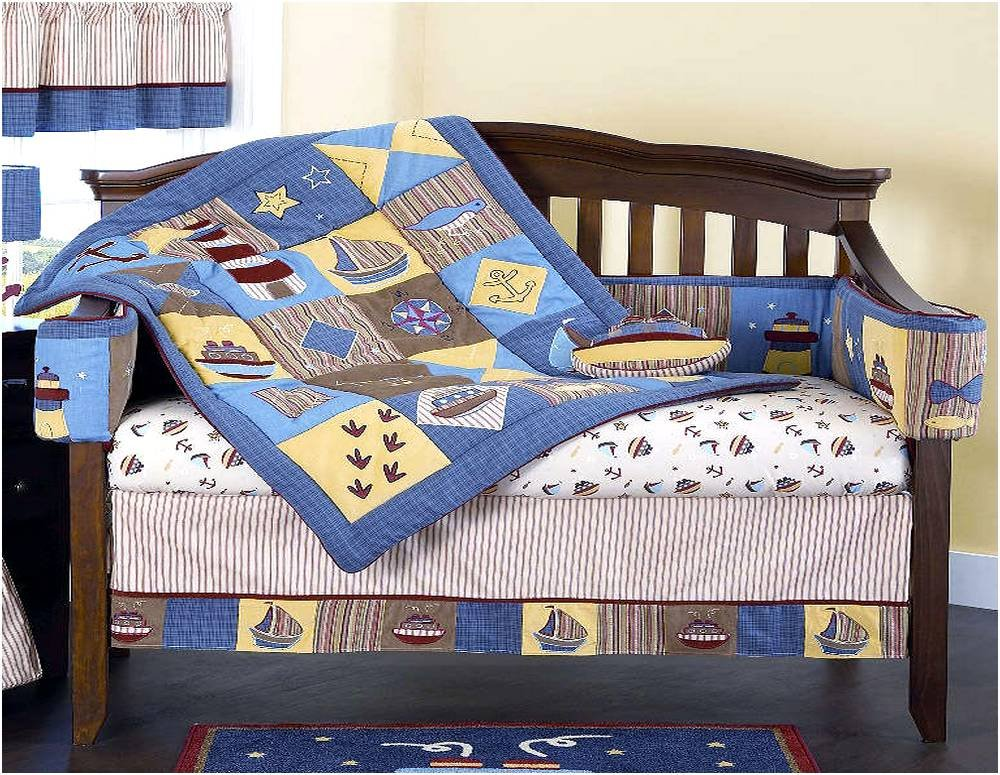 Image of: Nautical Bed Set Home Design Remodeling Idea Nautical Nursery Bedding Ideas