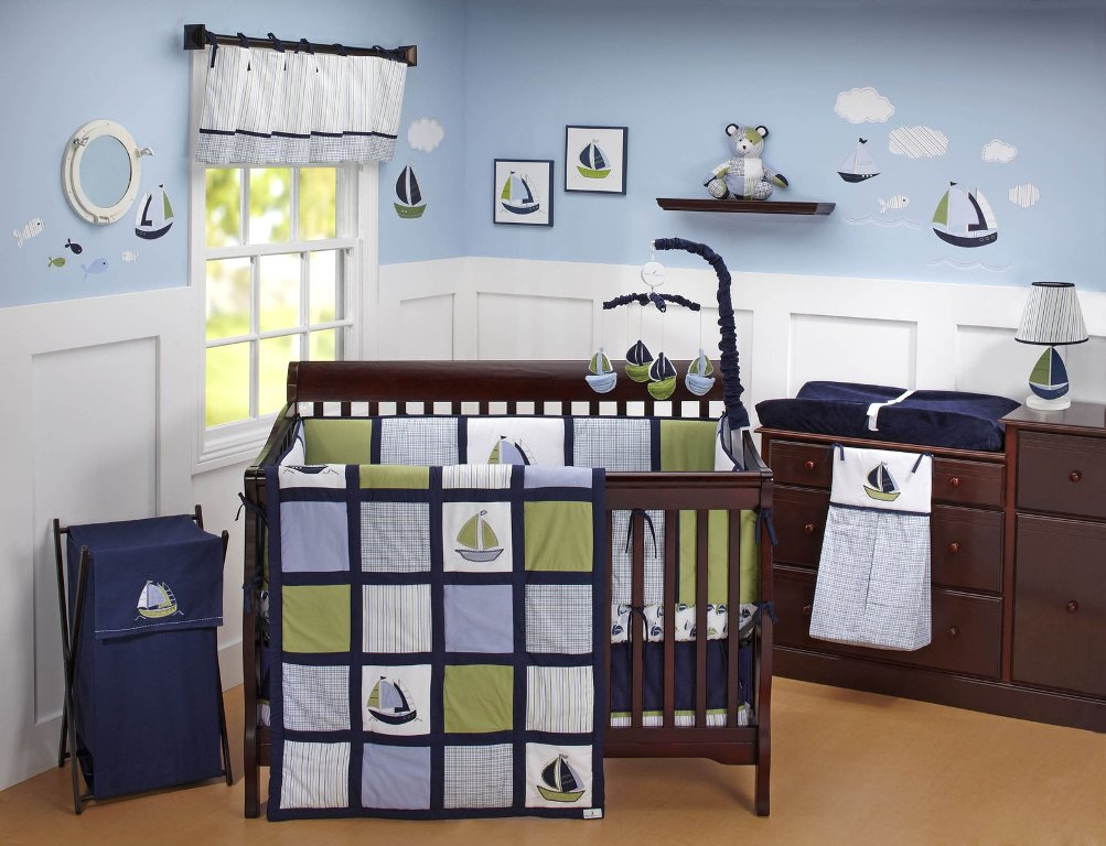 Image of: Nautical Bedding Collection