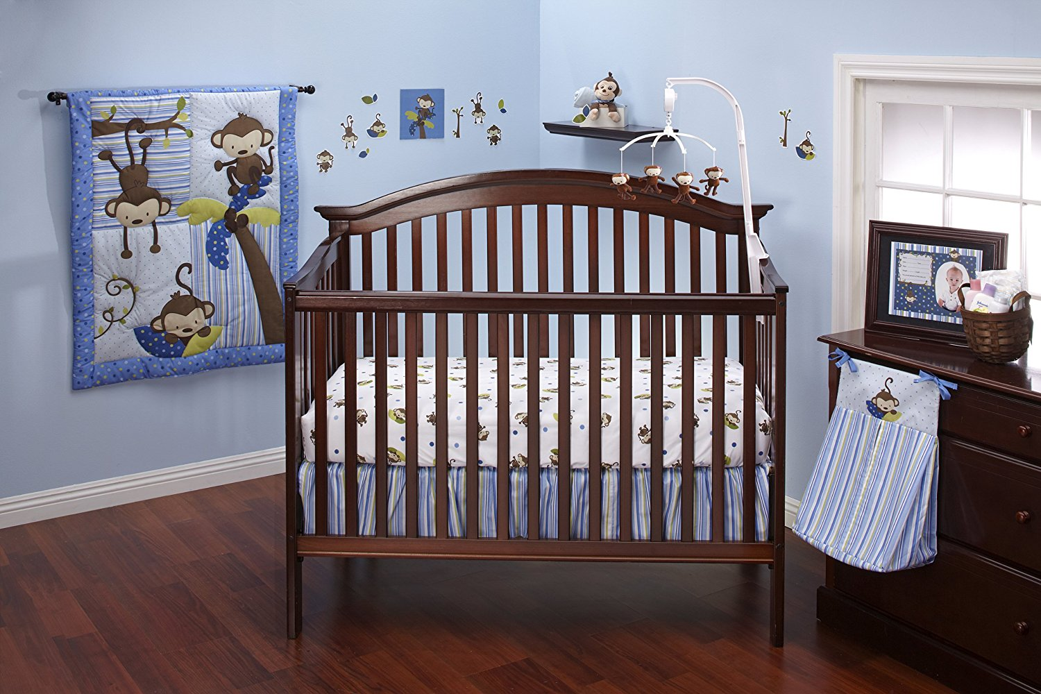 Image of: Nautical Crib Bedding