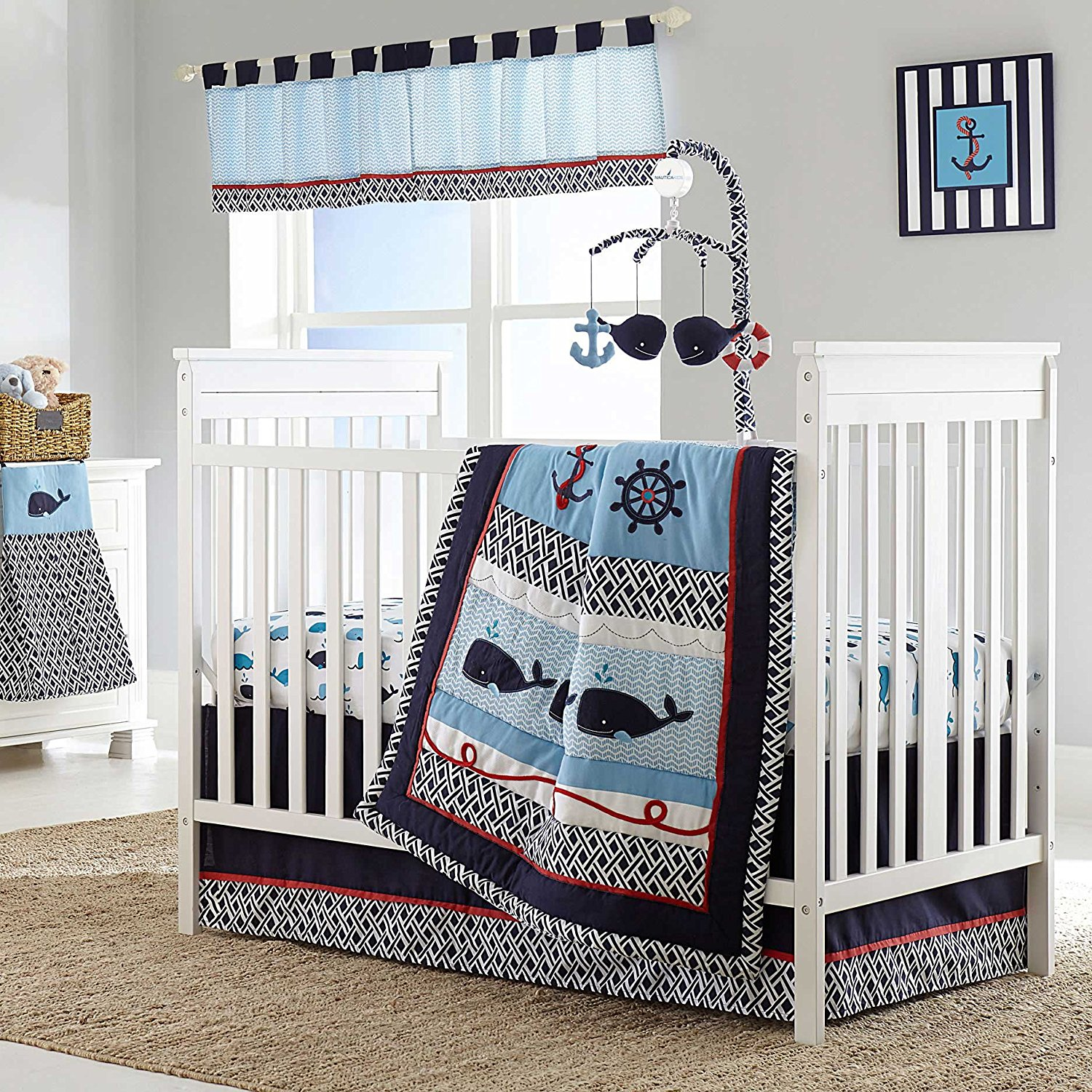 Image of: Nautical Quilt Sets Design Ideas