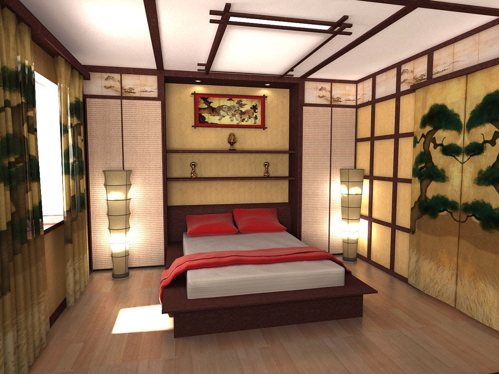 Image of: Oriental Bedding Color