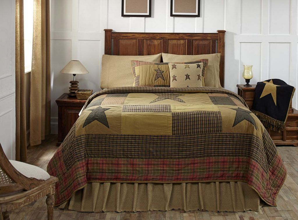 Image of: Primitive Country Bedding