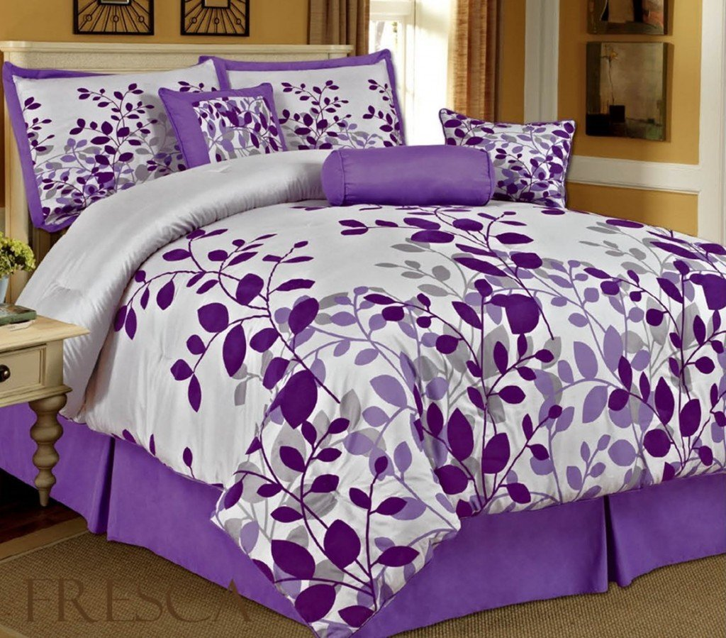 Image of: Purple Bedding Set King 28 Image Purple Bedding Set Purple Teal Bedding Sets For Girl