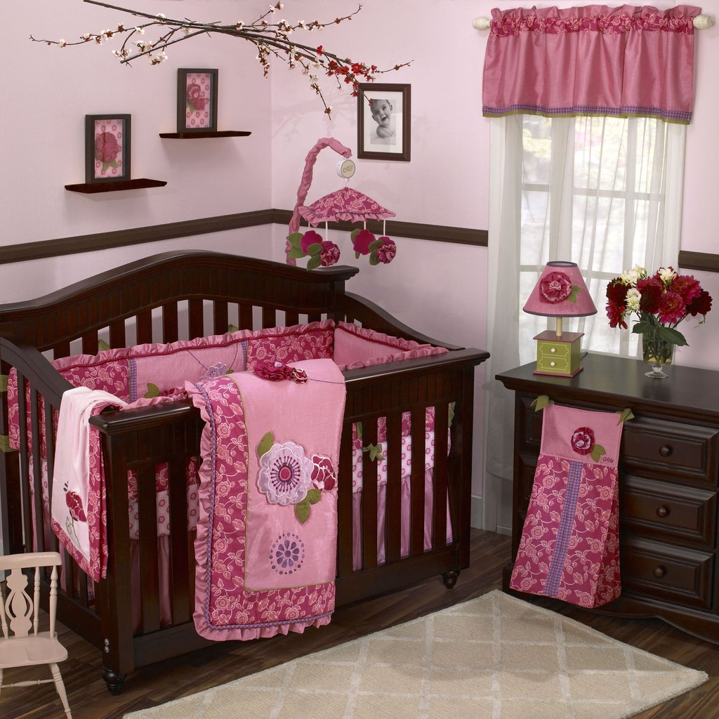 Image of: Room Decor Baby Girl Room Decorating Idea Home Decorating Idea Cute Elephant Baby Girl Bedding Theme