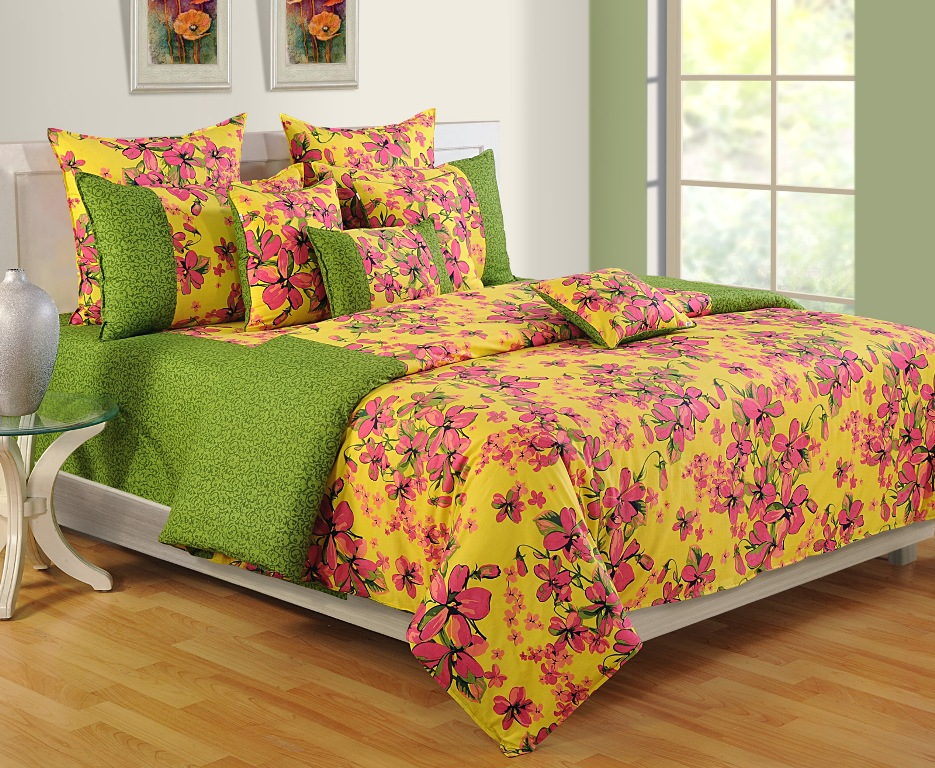 Image of: Simple Floral Bedding Twin