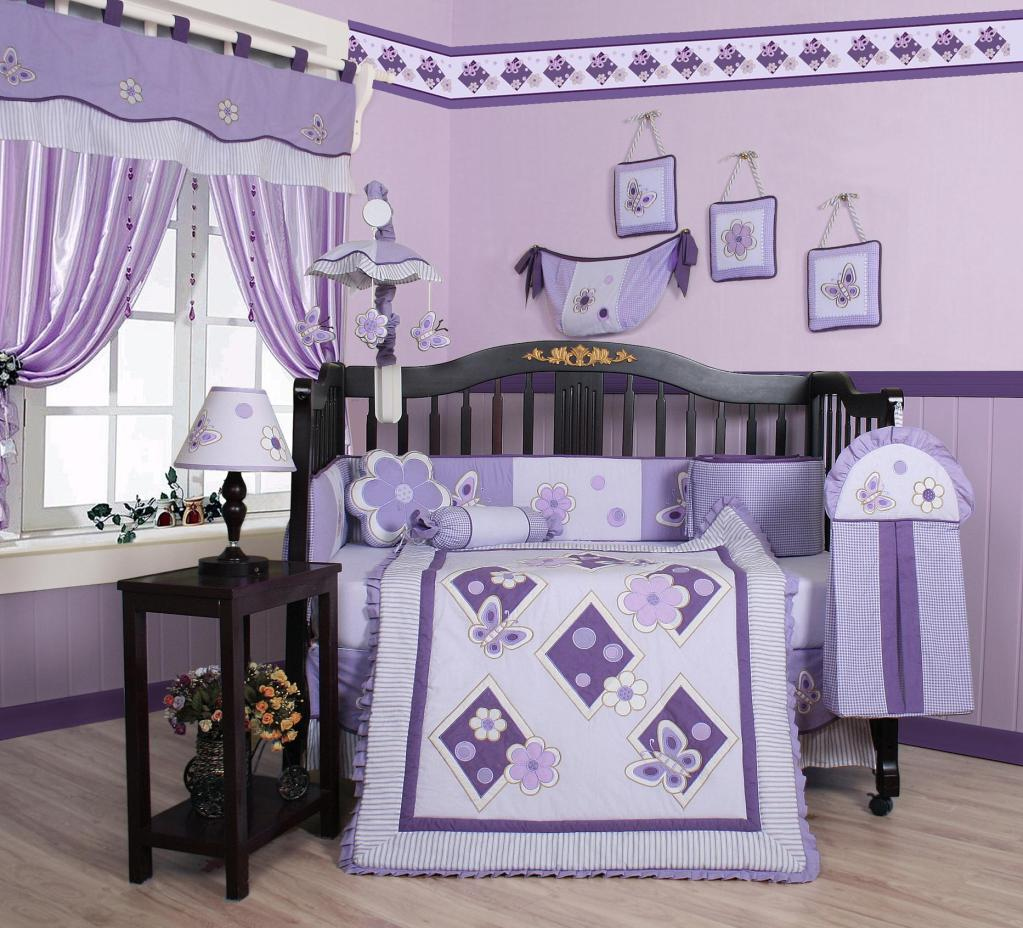 Image of: Unique For Baby Girl Crib Bedding