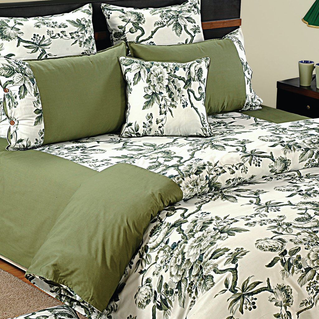 Image of: 100 Cotton Twin Queen King Size Decorative Duvet Cover Pillow Cover 7284 Gray and White Bedding Sets for Babies and Toddlers
