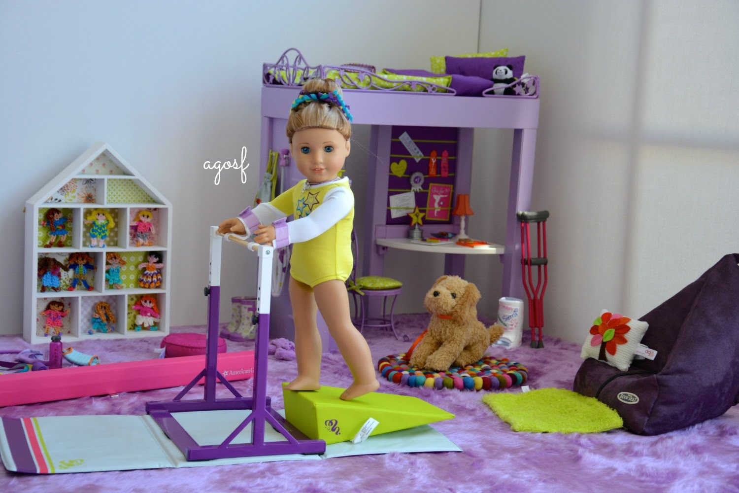 Image of: 18 Inch Doll Bed