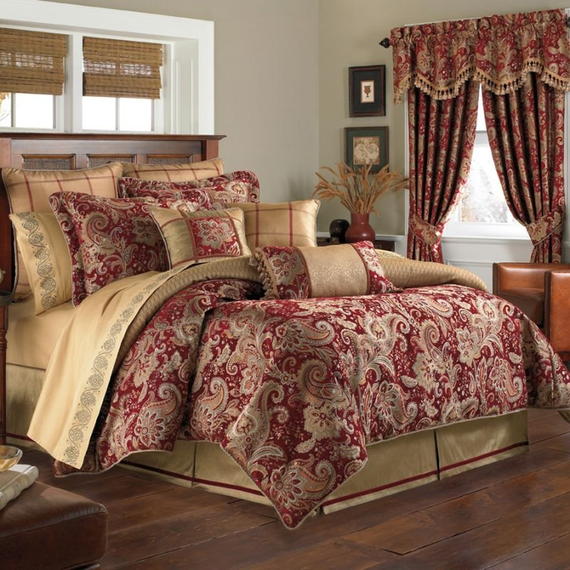 Image of: 7 Tip Add Romance Bedroom Croscill Romantic Interior French Country Bedding Sets