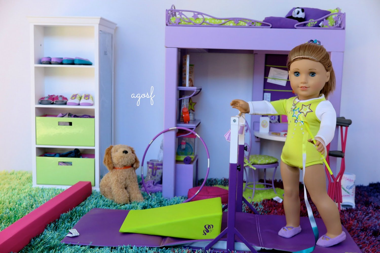 Image of: American Girl Bunk Bed Diy