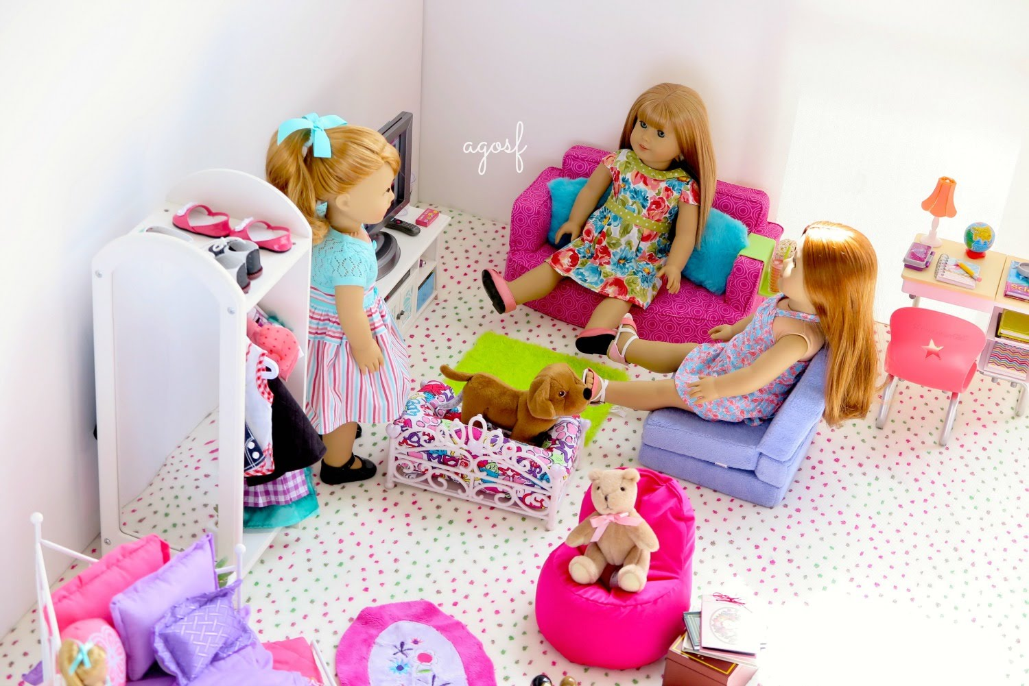 Image of: American Girl Bunk Bed Ebay