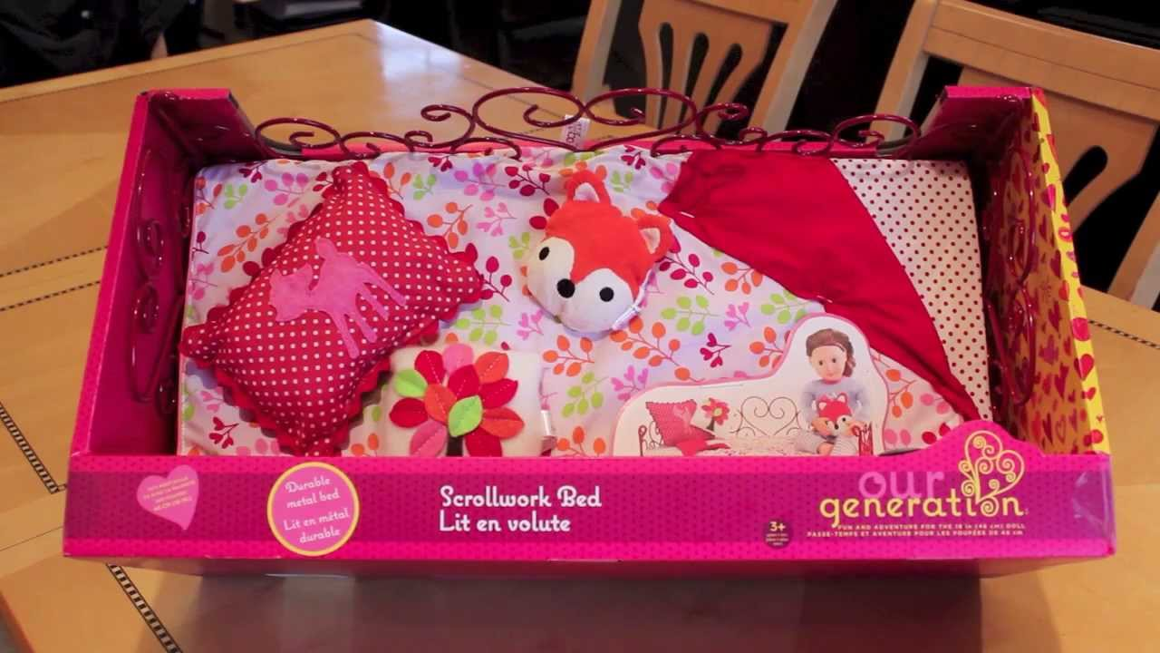 Image of: American Girl Doll Bedding