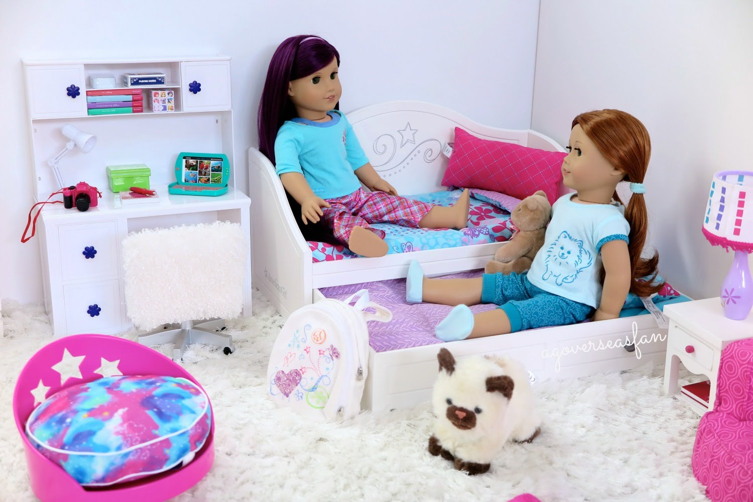 Image of: American Girl Doll Beds For Sale