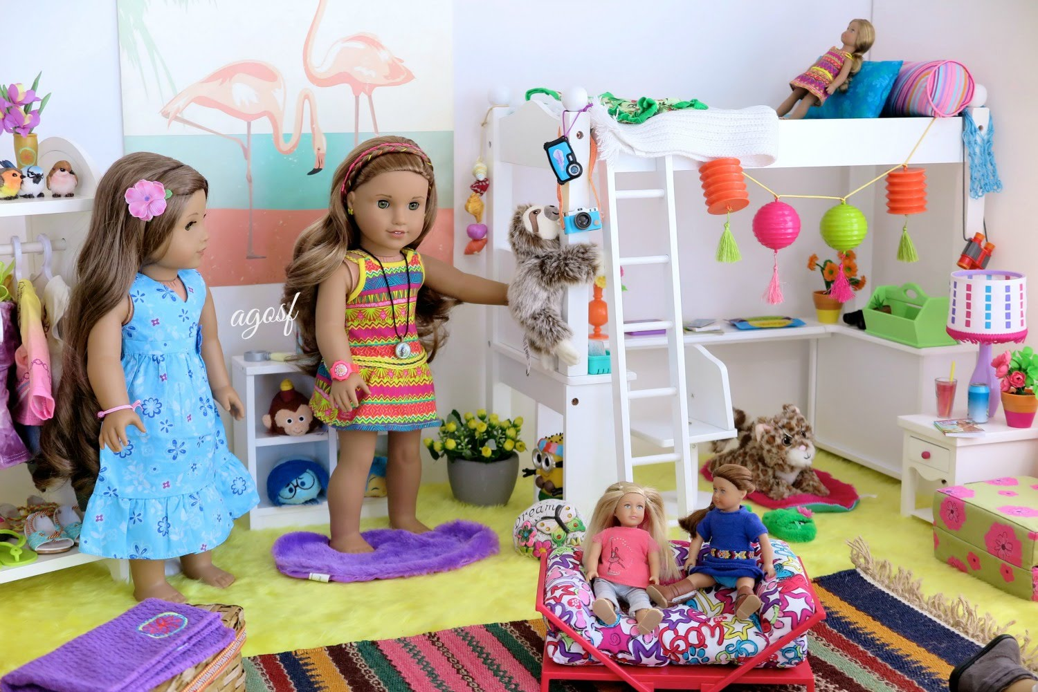Image of: American Girl Doll Beds Target