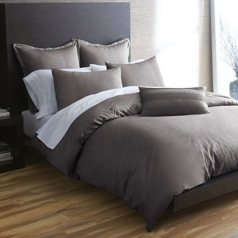 Image of: Black and Gray Bedding Set