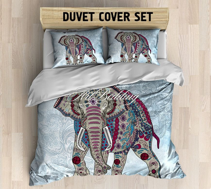 Image of: Bohemian Comforter Set Twin Full Size Twin Comforter The Key to Successful Boho Chic Bedding