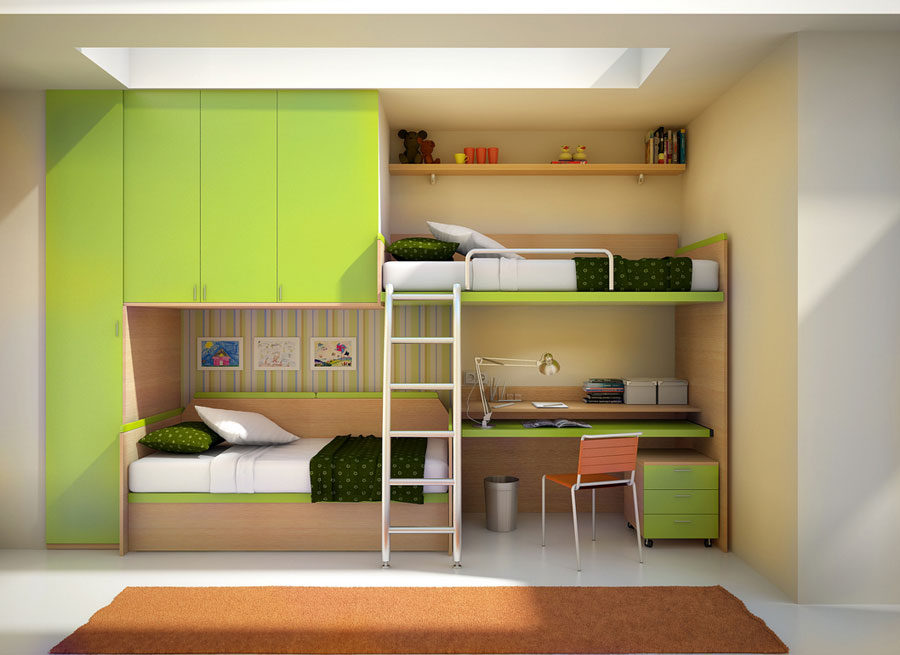 Image of: Bunk Beds Twin Over Full