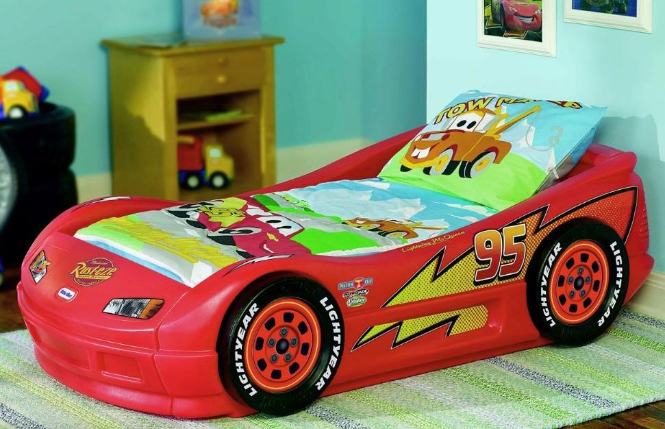 Image of: Cars 3 Toddler Bed Set