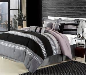 Image of: Charcoal Gray Bedding Sets