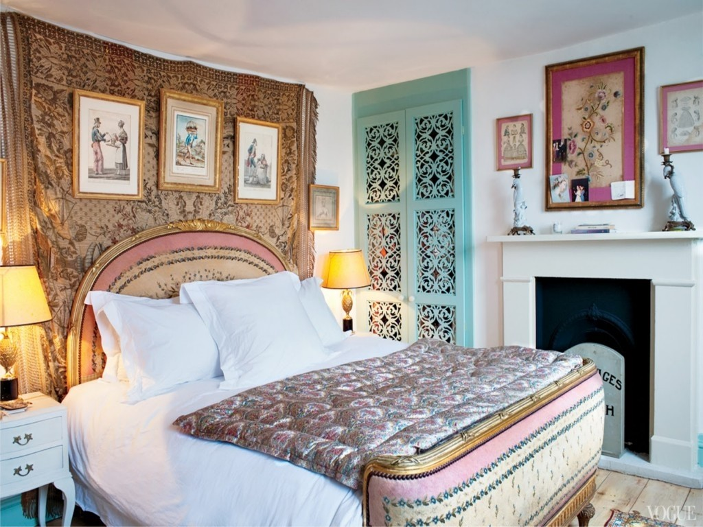 Image of: Colorful of Boho Chic Bedding