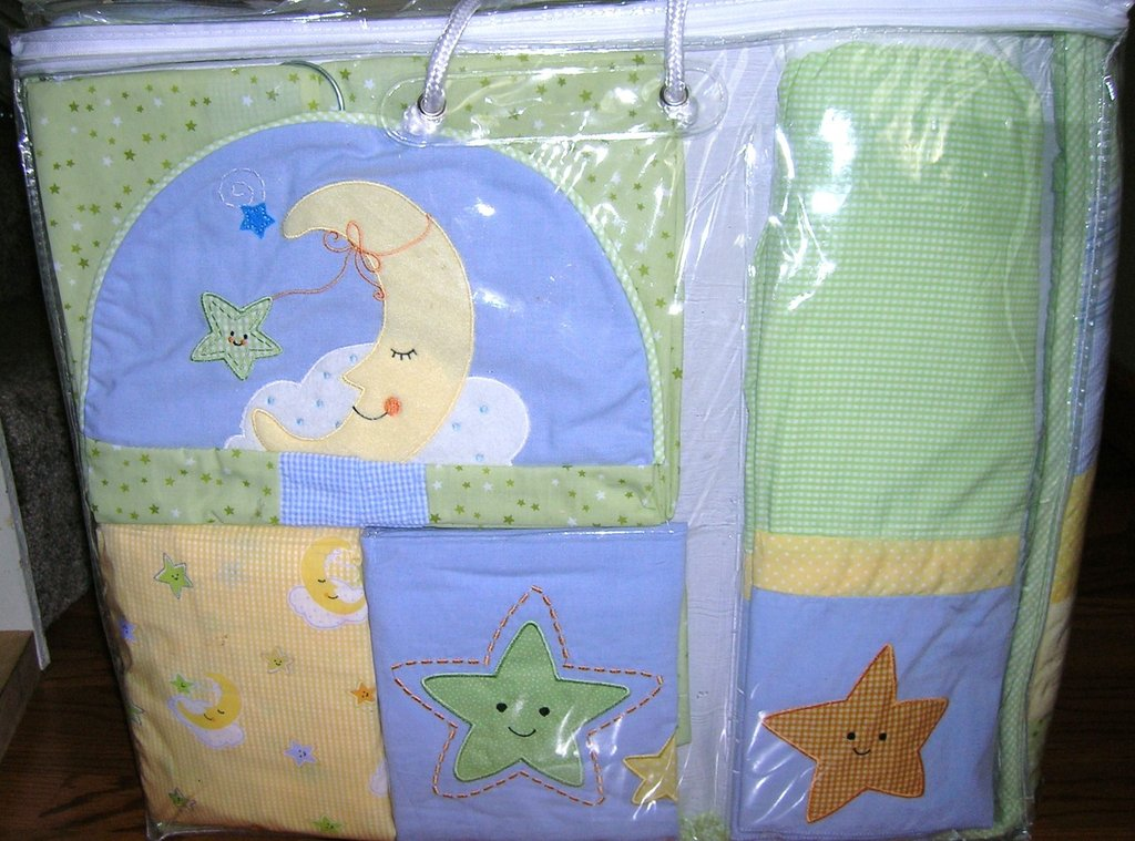 Image of: Crib Bedding Moon Star Baby Crib Design Inspiration Newest Trends Decoration Country Bed Sets