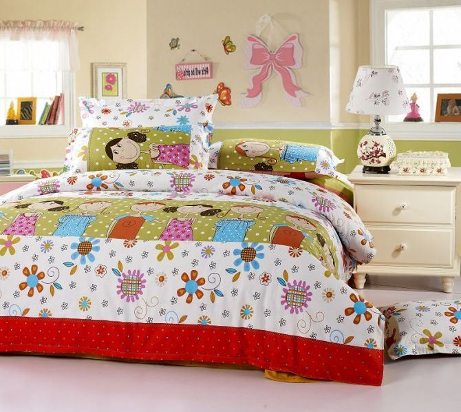 Image of: Cute Little Girl Bedding Sets