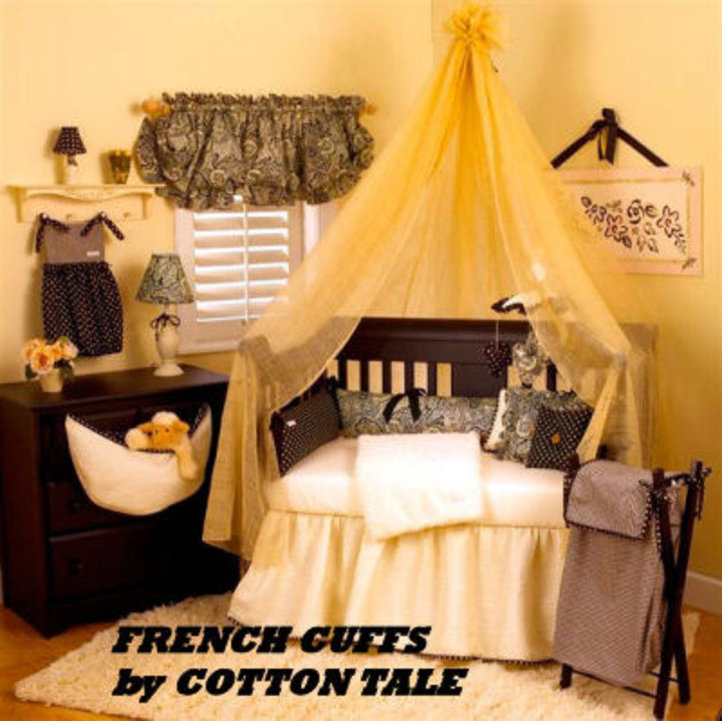 Image of: French Country Baby Bedding Crib Set Nursery Design Romantic Interior French Country Bedding Sets