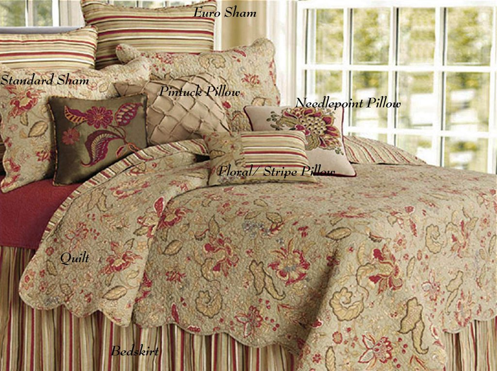 Image of: French Country Bedding Set   Romantic Interior French Country Bedding Sets