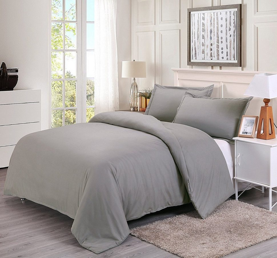 Image of: French Country Quilts Gray