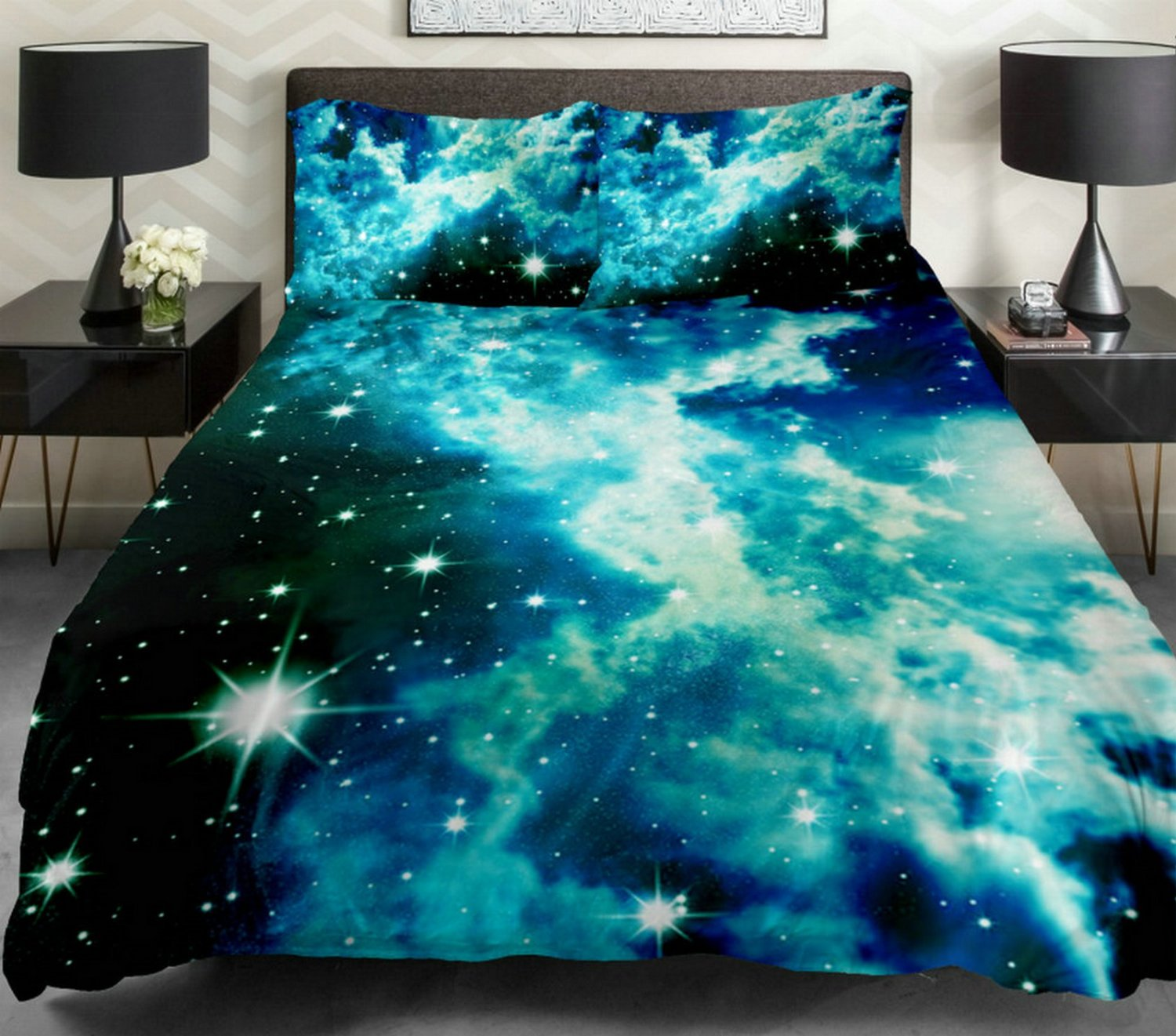 Image of: Galaxy Bed In A Bag Queen