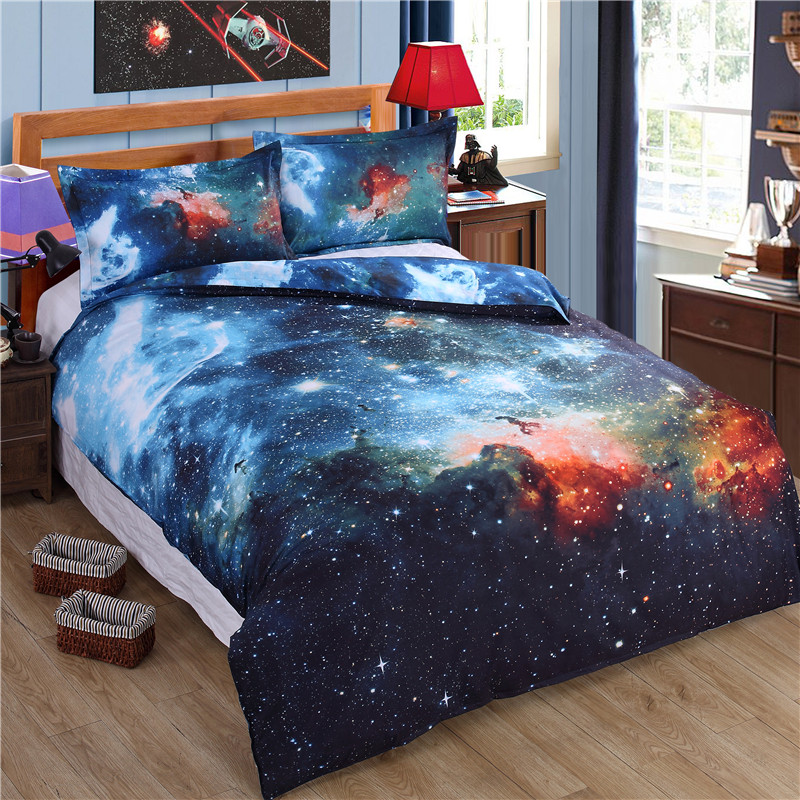 Image of: Galaxy Bed In A Bag Twin