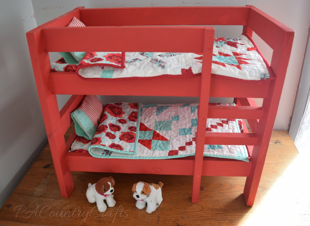 Image of: Generation Bunk Bed Generation World Doll Furniture Fun Ideas Doll American Girl Bed Set