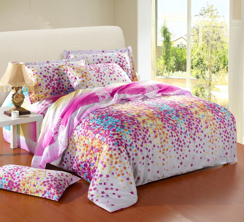 Image of: Girls Twin Bedding Sets