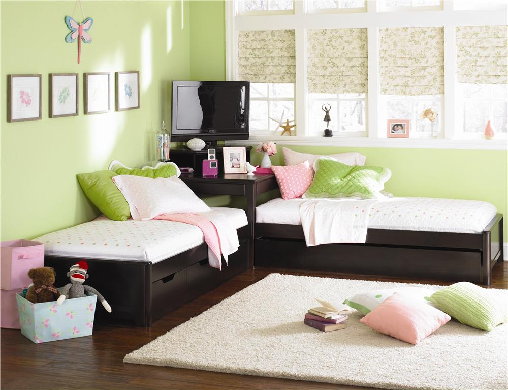 Image of: Ikea Twin Bed Corner Unit